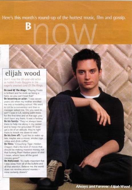 Elijah Wood 2002